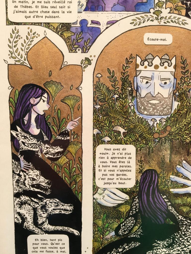 detalj av tegning Eugenie Ygouf